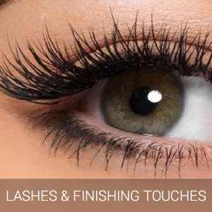 Lashes and Finishing Touches